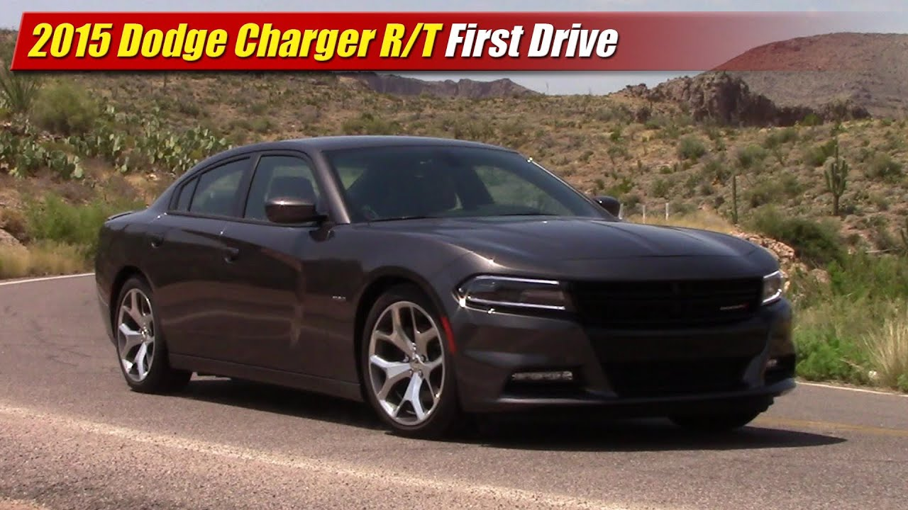 2015 dodge charger r/t first drive - youtube