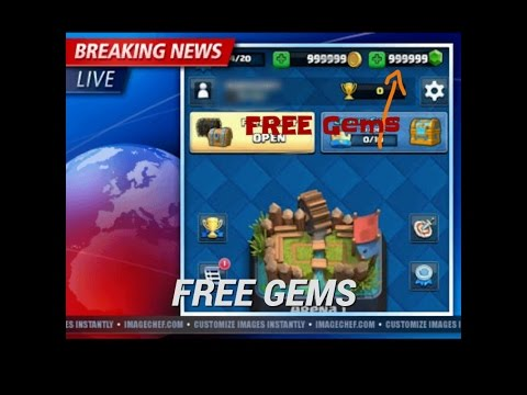 how to get unlimited gems in clash royale without human verification