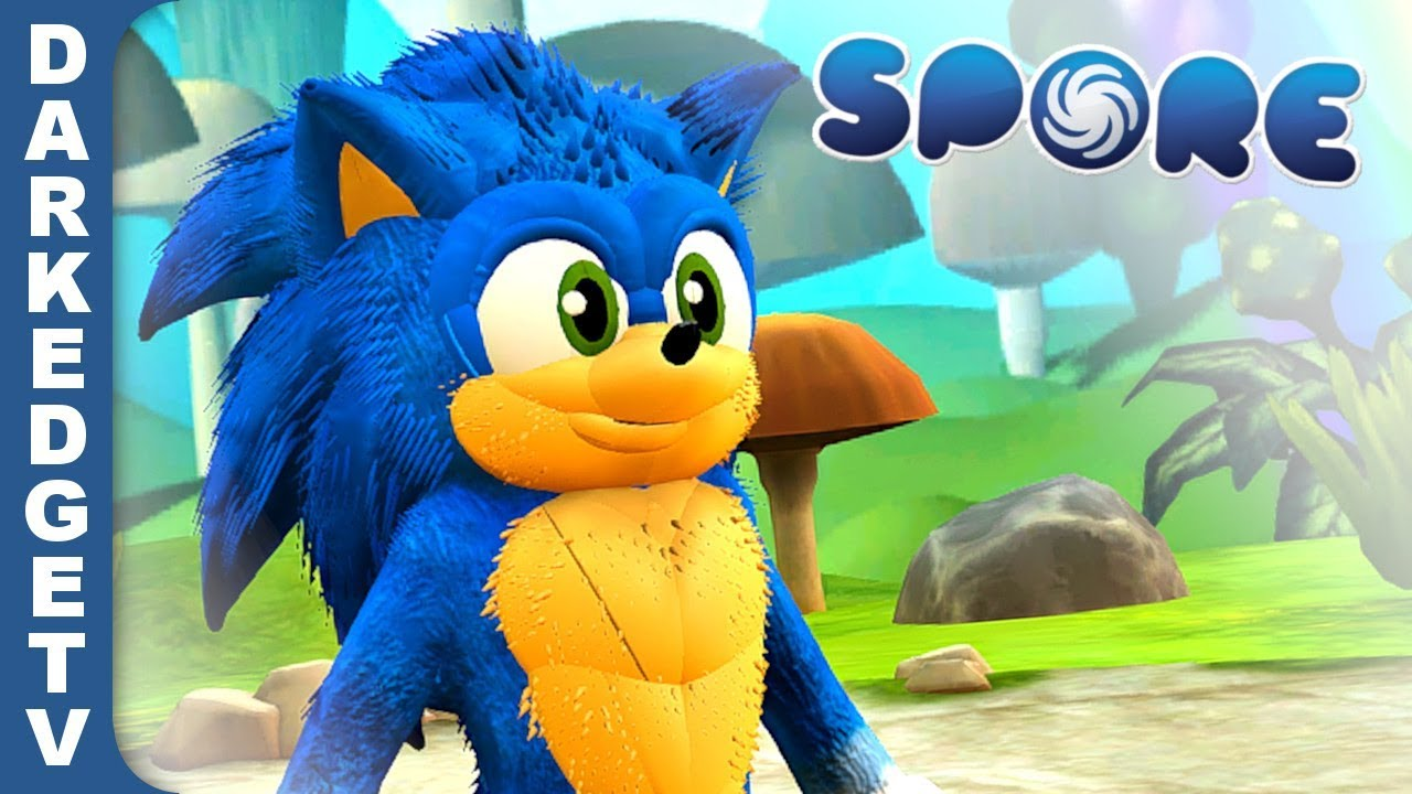 Sonic the Hedgehog MOVIE | Made in Spore!