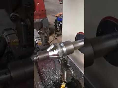 Metal pot Charak process Spinning on a CNC Spinning lathe machine