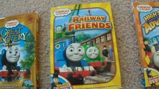 my thomas the tank engine friends vhs dvd collection