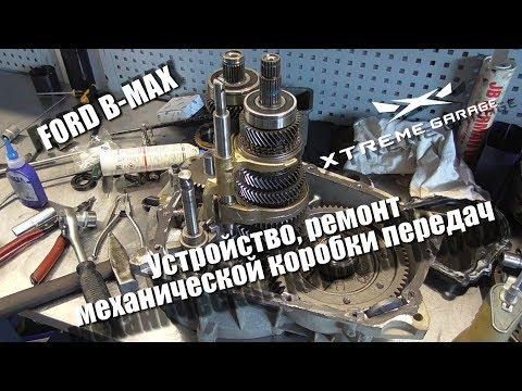 Устройство, ремонт механической коробки передач Ford B-MAX или Fiesta 6го поколения