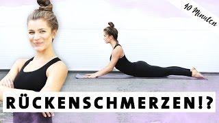 Yoga gegen Rückenschmerzen | Starker und Gesunder Rücken | Übungen für Zuhause