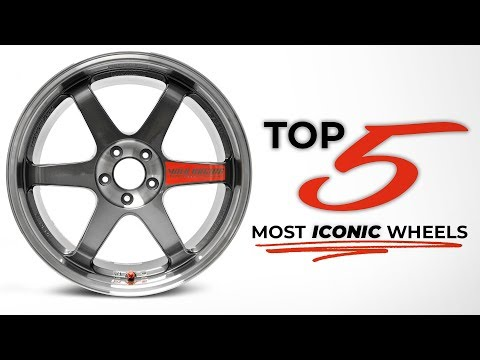 Top 5 Most Iconic Aftermarket Wheels