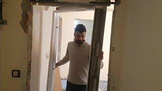 Çelik kapı montajı böyle yapılır - Steel door installation