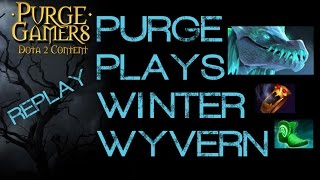 Dota 2 Purge plays Winter Wyvern