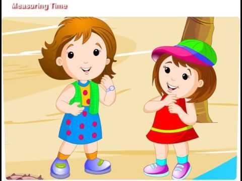 Mathematics for Kids- Measuring Time