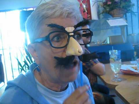 Grammy goes too far with the Groucho glasses