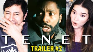 TENET | Christopher Nolan | John David Washington | Robert Pattinson |  Trailer #2 Reaction!