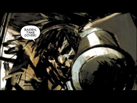Metal Gear Solid 2 Digital Graphic Novel (HD Legacy Version) [1080p]