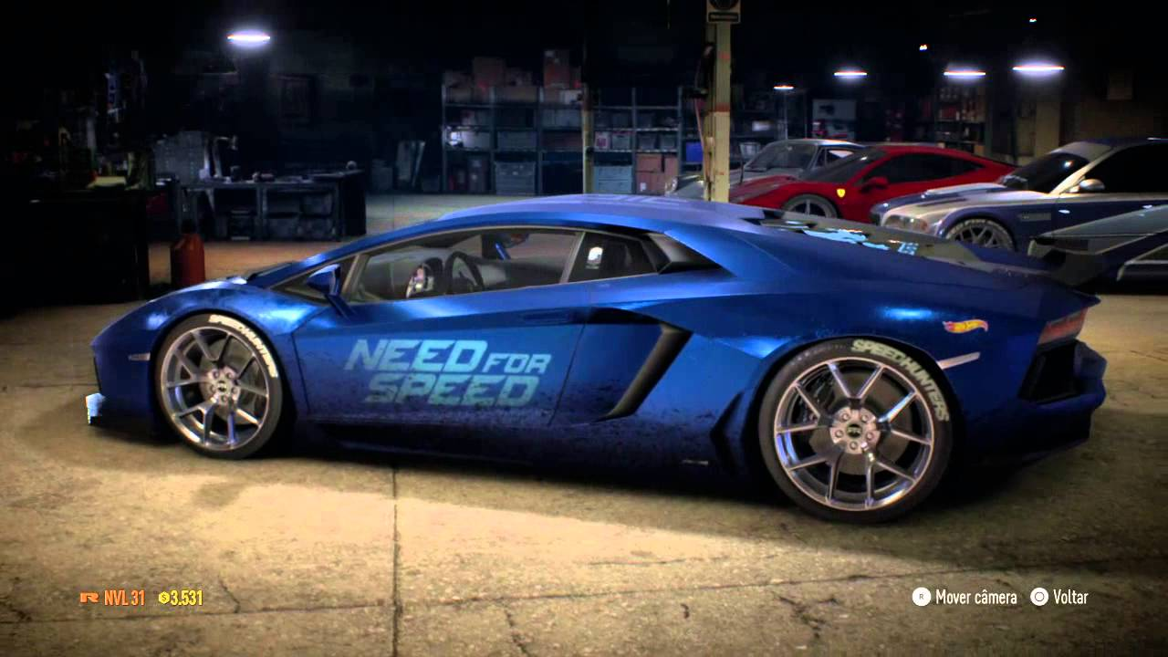 need for speed deluxe edition my cars garage youtube. Black Bedroom Furniture Sets. Home Design Ideas