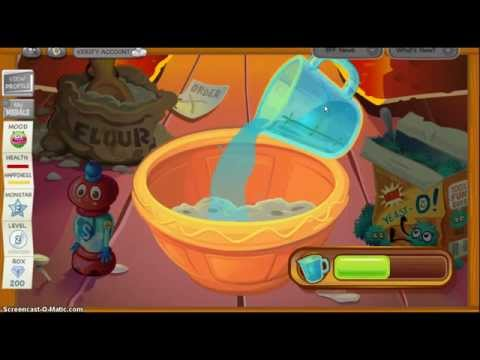 :moshi monsters: mini game:and got sticky notes