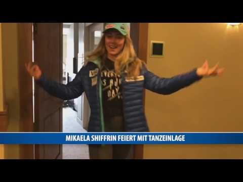 Mikaela Shiffrin feiert mit Tanzeinlage