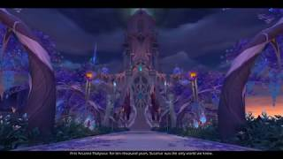 World of Warcraft: Nightborne Starting Area
