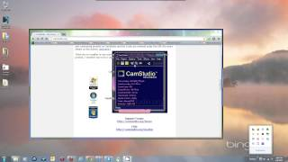 Quick How To Use CamStudio 2.7 - Camstudio Free Screen Recorder Tutorial