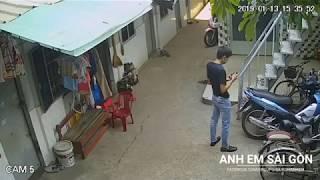 Những trường hợp bị trộm xe trên địa bàn TP.HCM. Dù chủ nhân đã khoá cổ xe cẩn thận và đậu trước nhà