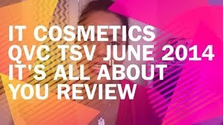 IT Cosmetics QVC TSV June 2014 - It's All About You - Celebration Foundation Rich Review Thumbnail