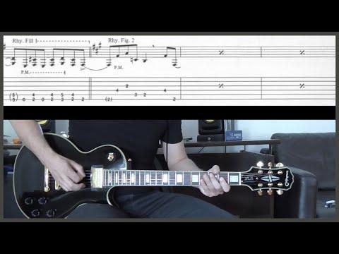 METALLICA - ENTER SANDMAN (Guitar cover with TAB)