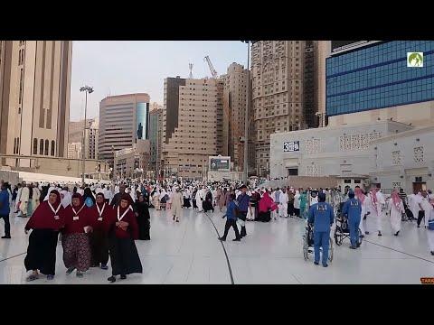 Traveling Saudi Arabia Walk In & Out Masjid AL Haram 2019
