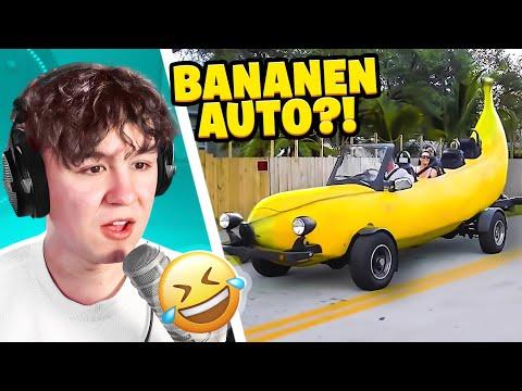 ROMAN REAGIERT AUF DAS BANANEN AUTO?!
