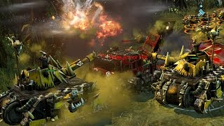Warhammer 40K Down of War 2 - 1vs1 Multiplayer Gameplay
