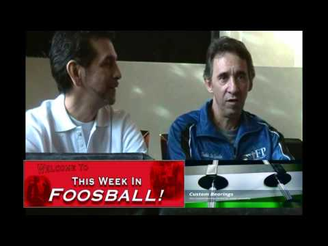 Interview with World Foosball Champion Todd Loffredo - part 1 of 3