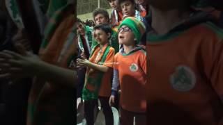 Alanyaspor Fenerbahçe maçı Alanyasporlu minik taraftar ve Rus kızlar bestesi