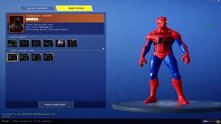 How To Get SpiderMan In FORTNITE **MUST HAVE OMEGA SKIN** *PATCHED*