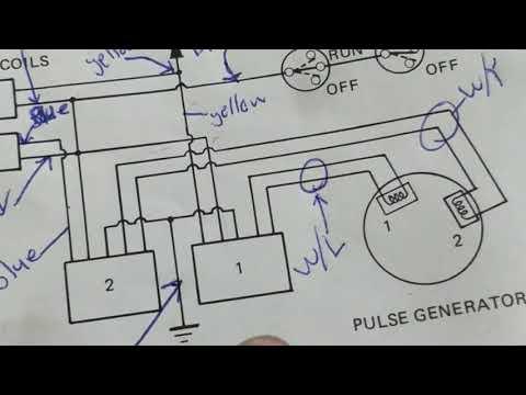 [DIAGRAM_1JK]  How a 1983 Honda Shadow VT750 Igniton System Works - YouTube   Vt 750 Wiring Diagram      YouTube
