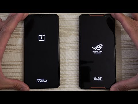 OnePlus 6T vs Asus ROG Phone - Speed Test!