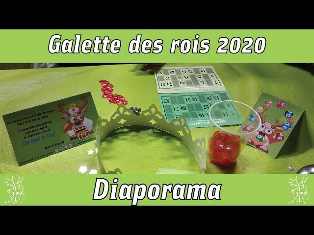 Galette rois et loto 2020 - diaporama