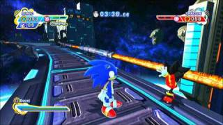 Sonic Generations (PS3): Shadow! Have you lost your mind!?! (vs. Shadow Glitch)