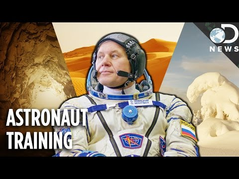 The Extreme Environments Where Astronauts Train For Space
