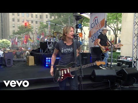 Keith Urban - Blue Ain't Your Color (Live From The TODAY Show)