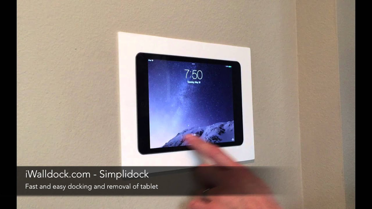 Iwalldock Com Simplidock Ipad Android Tablet In Wall