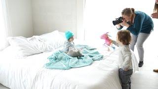 HUSH Baby photoshoot! - Behind the Scenes