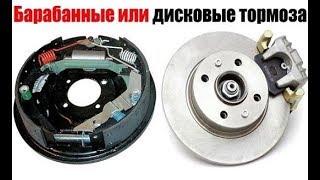 видео Что лучше, барабанные или дисковые тормоза?