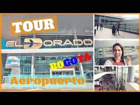 TOUR/TIPS AEROPUERTO EL DORADO DE BOGOTÁ COLOMBIA // Nathy Aportes