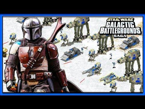 THE GALACTIC EMPIRE! Star Wars Galactic Battlegrounds