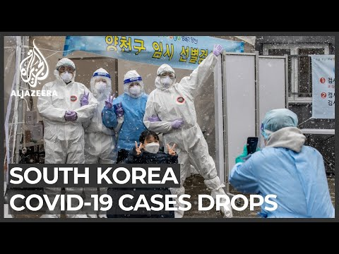 South Korea: New COVID-19 cases drop since December record high