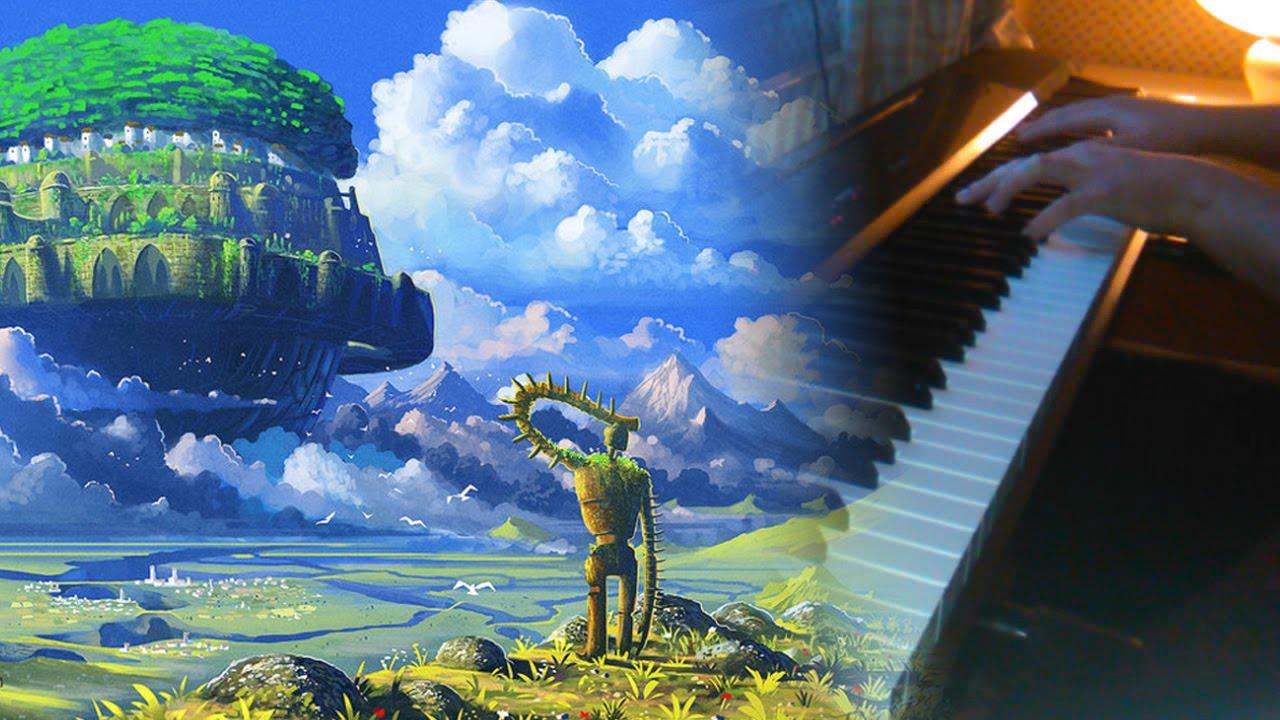 laputa main theme piano pdf