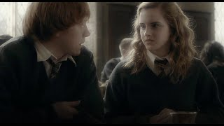 Ron Weasley and Hermione Granger - someone to stay