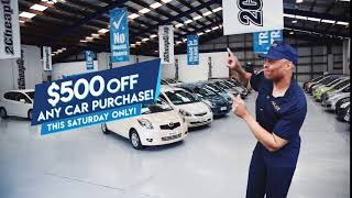 This Saturday: Penrose $500 off any car purchase! Crazzzy Low Prices!