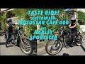 Garage Visits : Taste Ride! Project 400 : Customized MotoStar Cafe 400