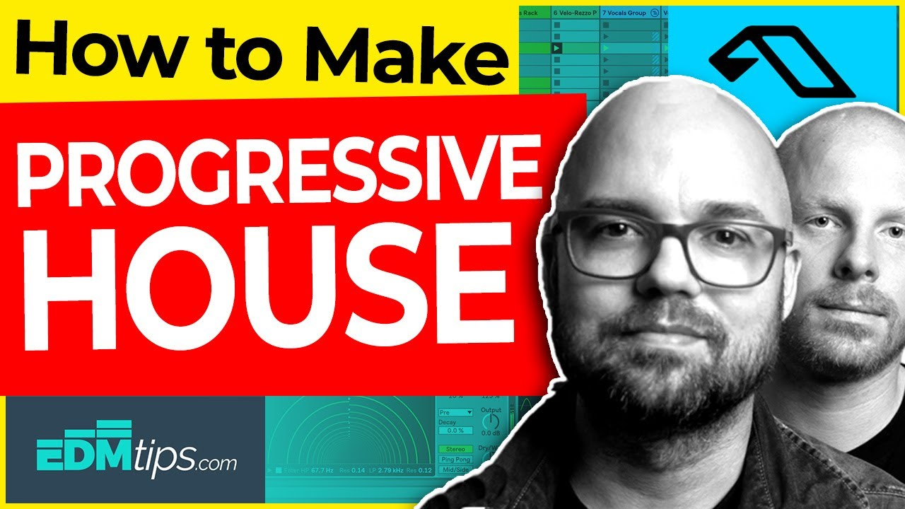 How to make PROGRESSIVE HOUSE (Like TINLICKER, Lane 8, Anjunabeats) – FREE Ableton Project & Samples