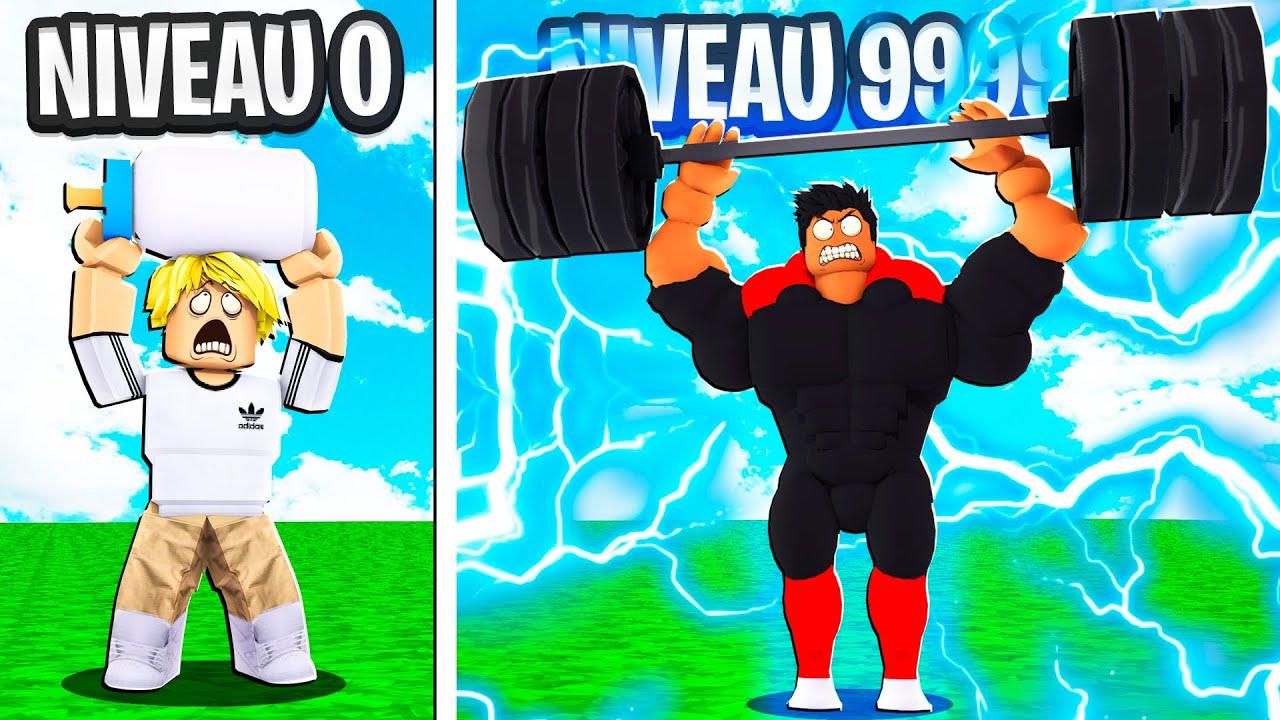 MA SALLE DE SPORT NIVEAU 99999 SUR ROBLOX ! (Gym Tycoon)
