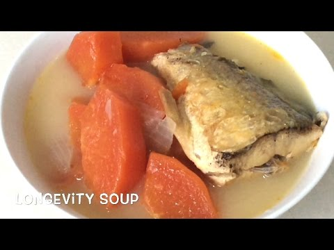 How To Boil Chinese PAPAYA & FISH Soup