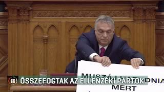 Összefogott az ellenzék az országgyűlési törvény módosítása ellen 19-11-14