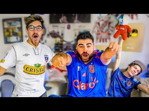 U. de Chile vs Colo Colo | SuperClasico Chileno 2019 | Reacciones de Amigos