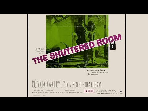 "Die Verschlossene Tür (USA 1967 ""The Shuttered Room"") Teaser Trailer deutsch / german VHS"